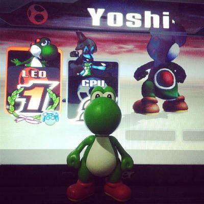 Yoshis, yoshis, yoshis... yoshi pra todo lado HAUAHUAHUAHAU *-* Yoshi Wii Happy