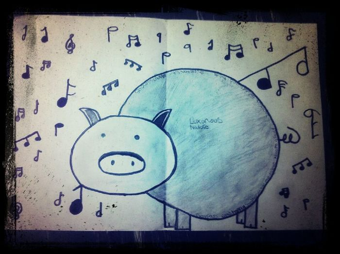 Bacon<3 My Zings art so cute^•^