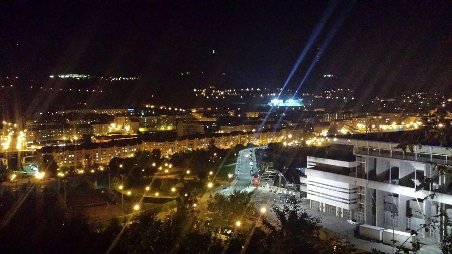 Estadiocarlostartiere Realoviedo Ro Night Night Lights Oviedo