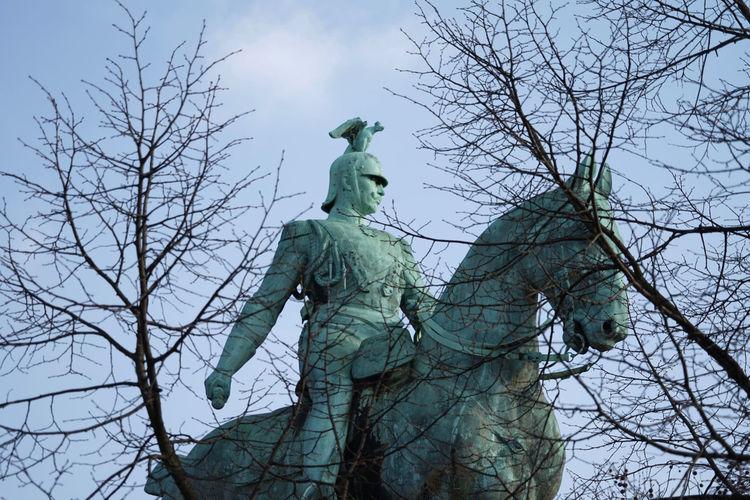 Cologne,köln,reiter Colors Köln Statue