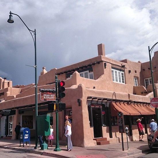 Santa Fe, near the Plaza