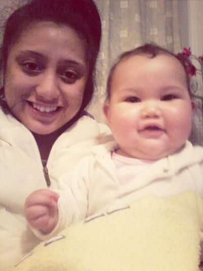 My niece owns my heart. Would spend hours watching over you instead of sleeping when I baby sit because im to afraid to take my eyes off you. When you grow up I may not be the most easy going aunty but you will always be safe with me. I love you as though you were my own. Firstborn Niecey Poo <3