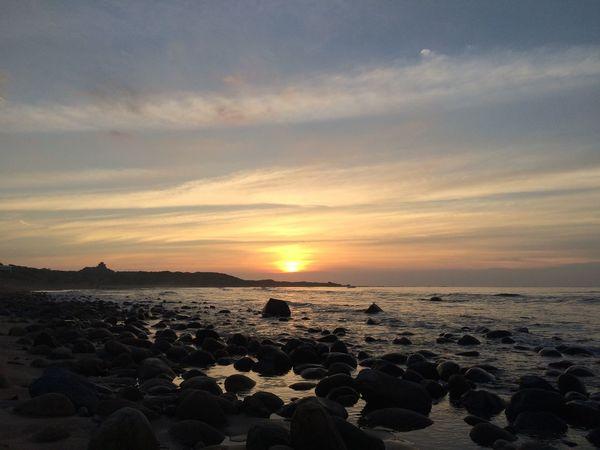 Sea Sunset Water Scenics - Nature Beach Beauty In Nature Tranquil Scene