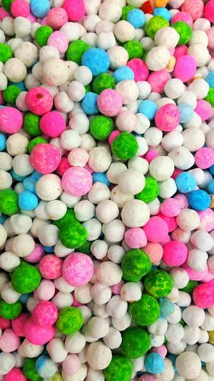 Multi Colored Backgrounds Full Frame Variation Close-up Sweet Food Food And Drink Bubble Gum Candy Candy Store Sweet Marshmallow Colorful Candy Heart Tasty