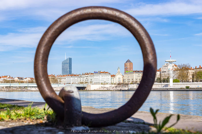 Stay focus Architecture City Circle Water Cityscape Built Structure Sky Lyon France Rhône Rhonealpes Photography Photo Travel Travel Destinations Travelling Street Photography Urban Skyline Lyon Part-Dieu France Only Lyon City LyonCity Street