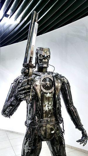 Terminator Alternative Art Super Hero