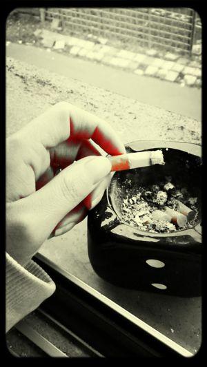 Zigarette First Eyeem Photo