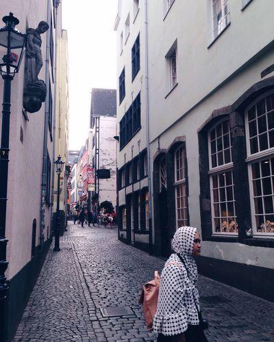 Hidden Places Hidden Beauty Culture Woman Passage Dots Moments City Historic Passing By Brick EyeEm Best Shots Bag Embracethemoment