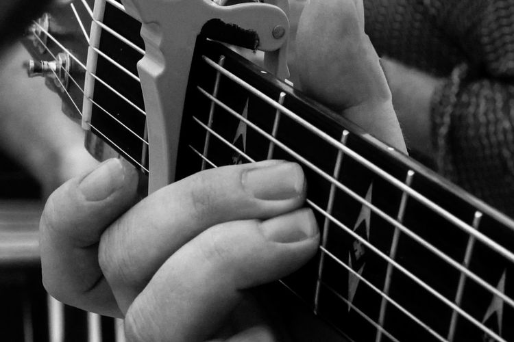 Arts Culture And Entertainment Close-up Human Body Part Human Finger Human Hand Indoors  Music Musical Instrument Musician Night One Person People Real People Rock Music
