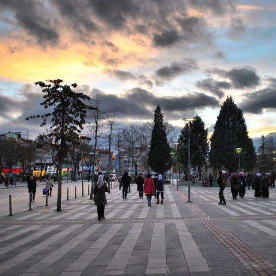 Dusk at Konya Central Park 😎 Journal Jaulah Streetphotography Nikon Nikonphotography Scene Dusk Zidagraphy Zidatravelogue Visitturkey Turkey Konya Iloveit 😍