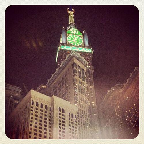 Jeddah Instagood Mekke Mecca Saudiarabia Kabe Zamzamtower Zemzemtower Tower Clock Instagood