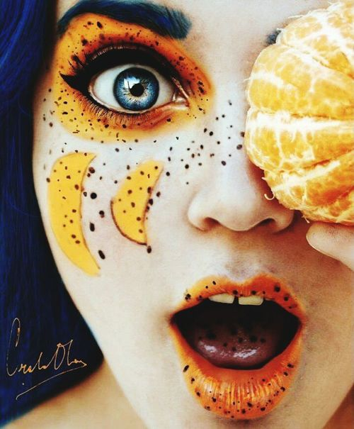 Art People Carnaval2015 Fruits ♡ Orange Shocked Face