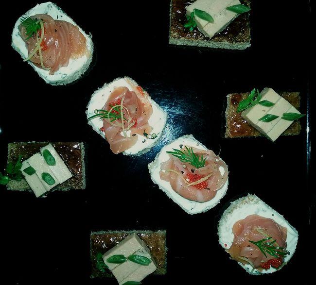Food Photography Aperitif Time Aperitivo Time Canapes Tartines Saumon Fumé Salmone Foisgras EyeEm Food Photography