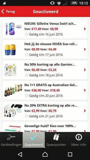 Girl Power get some Discount at the Pharmacy Kruidvat Jouwvoordeelkaart