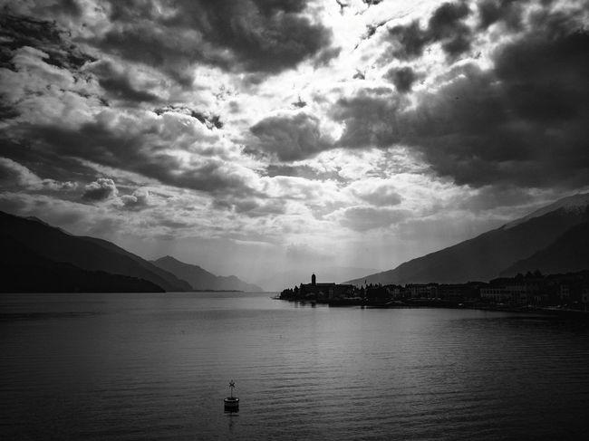 Clouds Ferry Ferryboat Lake Alpi Alps Lago Di Como Como Lake Lario Oil Pump Sea Bird Tree Boat Calm Lakeside Mid Distance Waterfront Cloud Harbor Sailing Boat