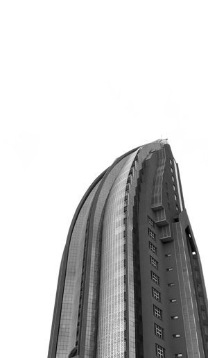 Nairobi Rising Low Angle View Sky Clear Sky No People White Background Close-up Built Structure Architecture Still Life Day Metal