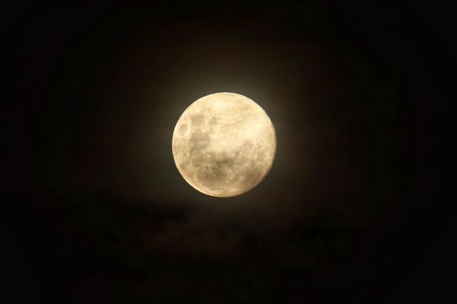 Lunar beauty Space Moon Night Astronomy Sky Geometric Shape Planetary Moon Circle Full Moon Beauty In Nature Tranquility No People Moon Surface