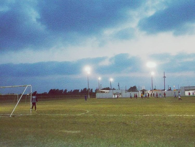 Soccer Game Soccer⚽ Soccer Life Soccer Match Soccer Field Soccer Team  Goalie Night Lights Blue Sky White Clouds Life In Texas Texas Texas Skies South Texas South Texas Sky Rio Grande Valley