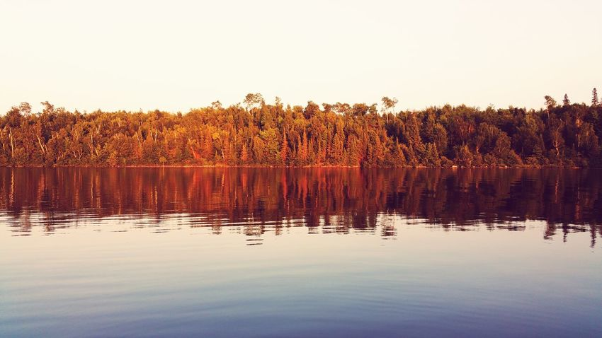EyeEm Selects Reflection Lake Water Nature Outdoors Tree Scenics Beauty In Nature No People Landscape Sunset Sky Rural Scene Day Northwoods