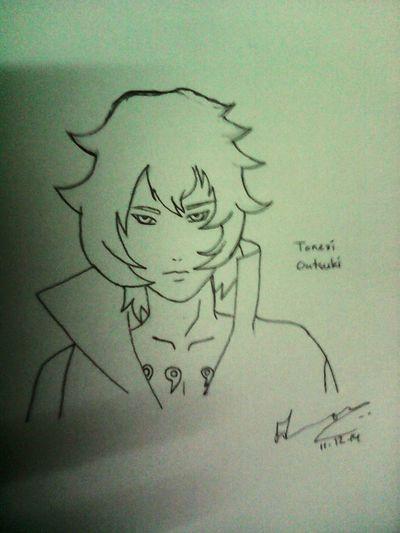 Pen Drawing Love And Life Naruto the last villain