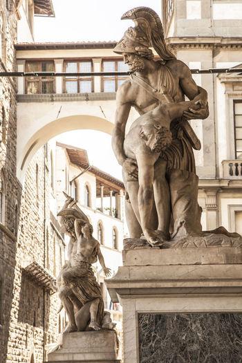 Statues At Loggia Dei Lanzi