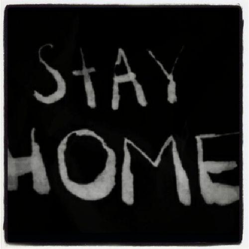stay home dude! Puyobalay