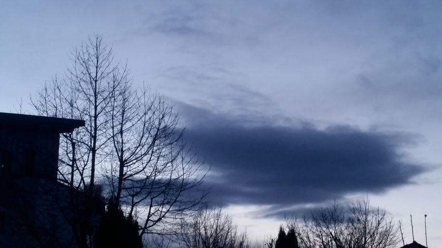 Wolky Wolken Blue Blau Blauer Himmel