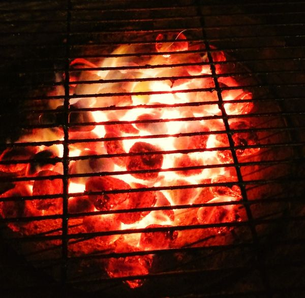 This is not Lava but might as well it should be. Charcoal BBQ Grilling