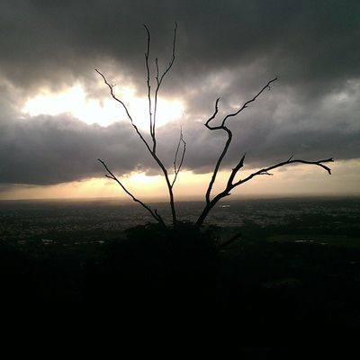 View from Chamundi Mysurumemes Mysore Nature Sun Sunset Clouds Thunder Friday Fashion_ages