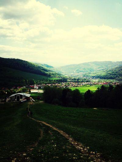 Taking Photos Hello World Mountains View