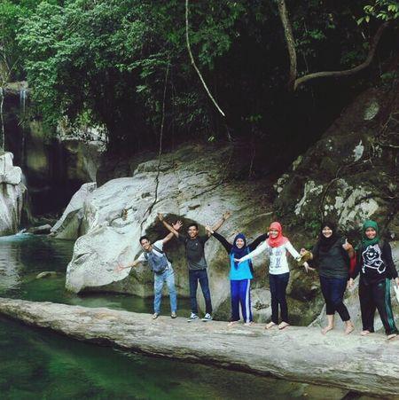 Nyarai waterfall, West Sumatera, Indonesia :) Love this place so much! Waterfall Traveling Westsumatera