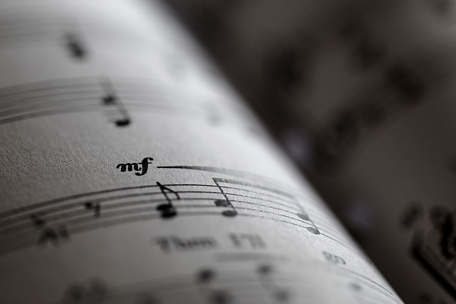 Arts Culture And Entertainment Backgrounds Black & White Black And White Close-up Communication Day Exceptional Photographs First Eyeem Photo Hello World Indoors  Light And Shadow Macro Macro Photography Music Music Brings Us Together Musical Musical Note Musician Musicians No People Notes Paper Selective Focus Sheet Music Piano Moments