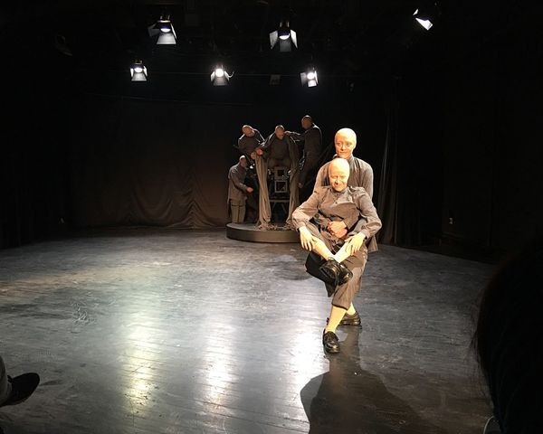 Performance Ghajartime Men Military Real People Indoors  Full Length Illuminated Occupation Weapon Teamwork Adult People Actor Adults Only Steel Worker Performing Arts Event Arts Culture And Entertainment Large Group Of People Actor Iran Stage - Performance Space Adults Only Only Men Tehran, Iran
