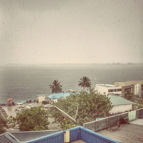 Raining InstagramMV Malecity Maldives