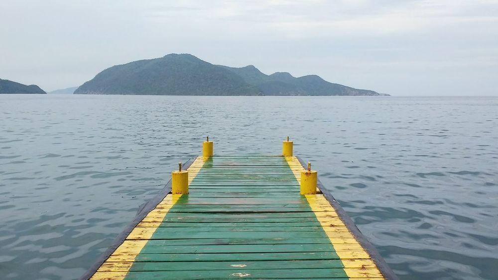 Muelle, playa, y una buena vista!... Lake Mountain Water Nature