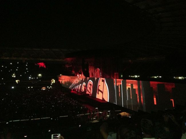 in the flesh Roger Waters The Wall Rome