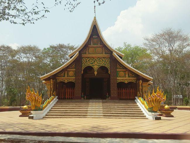 Temple Bhudha Laos Ann Ann