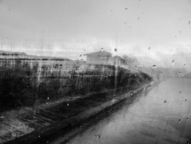 Rain Window Weather RainDrop Water Abstract Winter No People Black And White Black & White Rany Day Rainy Days Urban Exploration