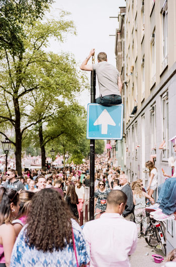 """""""My Streets"""" - A series on Street Photography. Streetphotography Gaypride Signs Man People EyeEm Best Shots Crowd Stand Out From The Crowd I Love My City Picturing Individuality Picturing Indivisuality"""