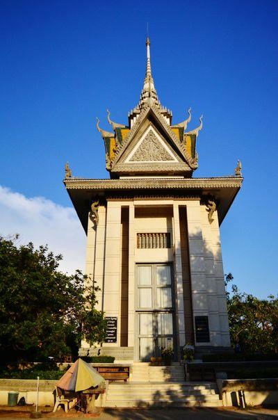 Memorial at the killing fields near Phnom Penh Killing Fields Phnom Penh Cambodia Oh! Phnom Penh.