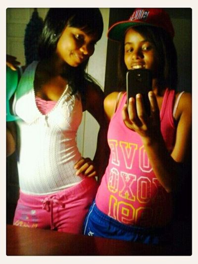 That Sexxy Gyal And Meh!!!<3<3