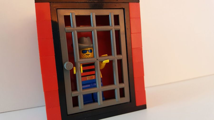 EyeEm Selects Built Structure No People Architecture Day Prison Prisoner Imprisoned Prison Cell LEGO Legoman George