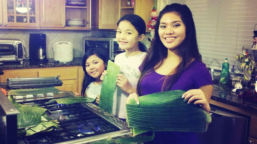 Making Tupig With The Sisters