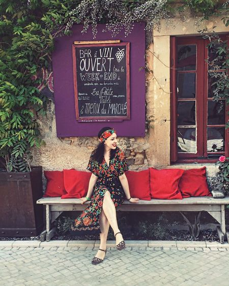 Pink Beautiful Woman Outdoors One Person Young Adult Day Portrait Young Women Beauty Architecture Building Exterior Adult Adults Only People Only Women Croissant For Breakfast France Sundays Style Fashion Fashion&love&beauty Fashion Photography Stylish