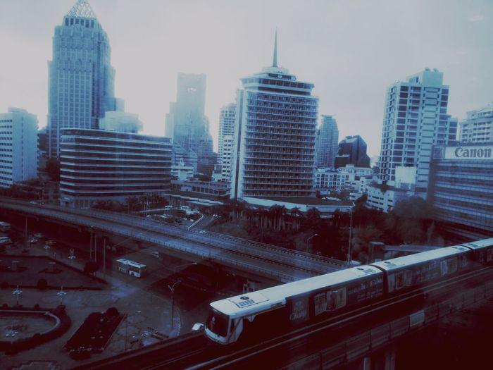The Journey Is The Destination On The Way Skytrain Skytrainbangkok