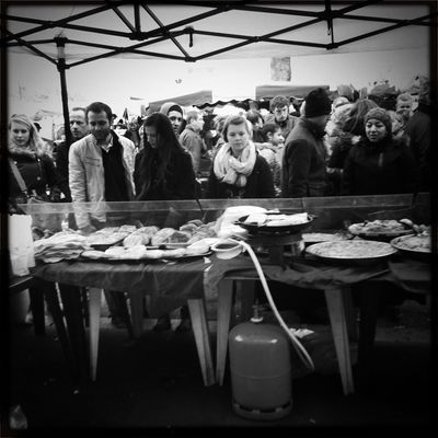 Sunday Shoppers TheMinimals (less Edit Juxt Photography) Black & White Hipstamatic Streetphotography_bw