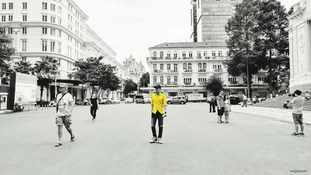 ••• Lost in Saigon ••• Saigon Alone Time Alone In The City  Lost Places Lost Check This Out Hello World That's Me Mokuin Yellow Shirt Effects & Filters Colorsplash Today's Hot Look Continental