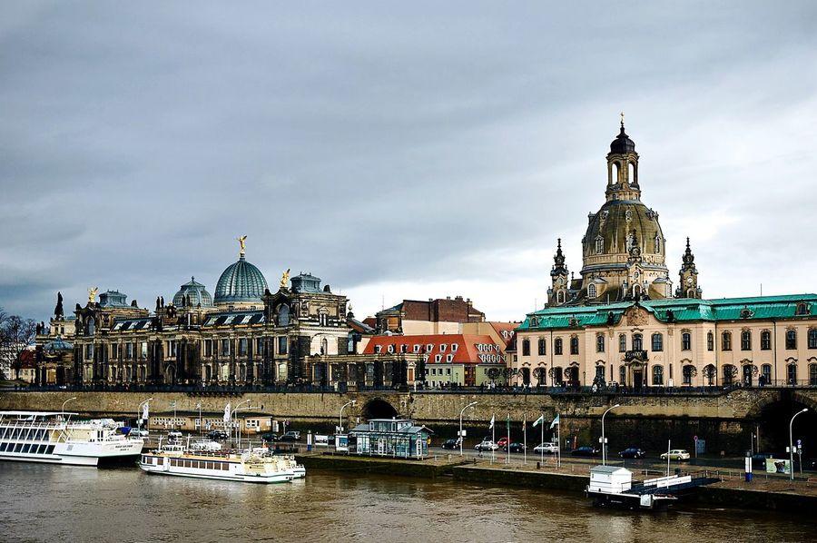 View of the Katholische Hofkirche and Hochschule Bildence Kunste Dresden, Traveling Travel Photography Enjoying Life Eye4photography  EEA3 - Dresden EEA3