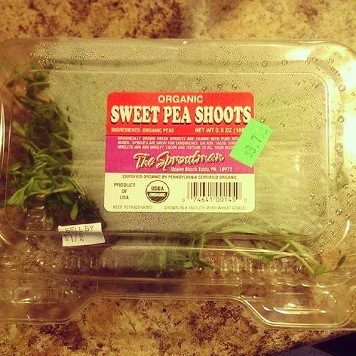 Thesproutman Organic Sweetpeashoots