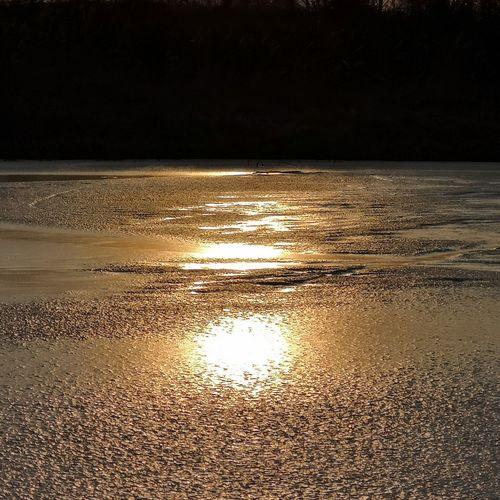 Set under ice